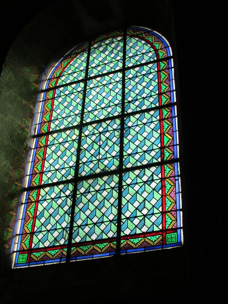 Vitrail de l'église Saint Germain l'Auxerrois