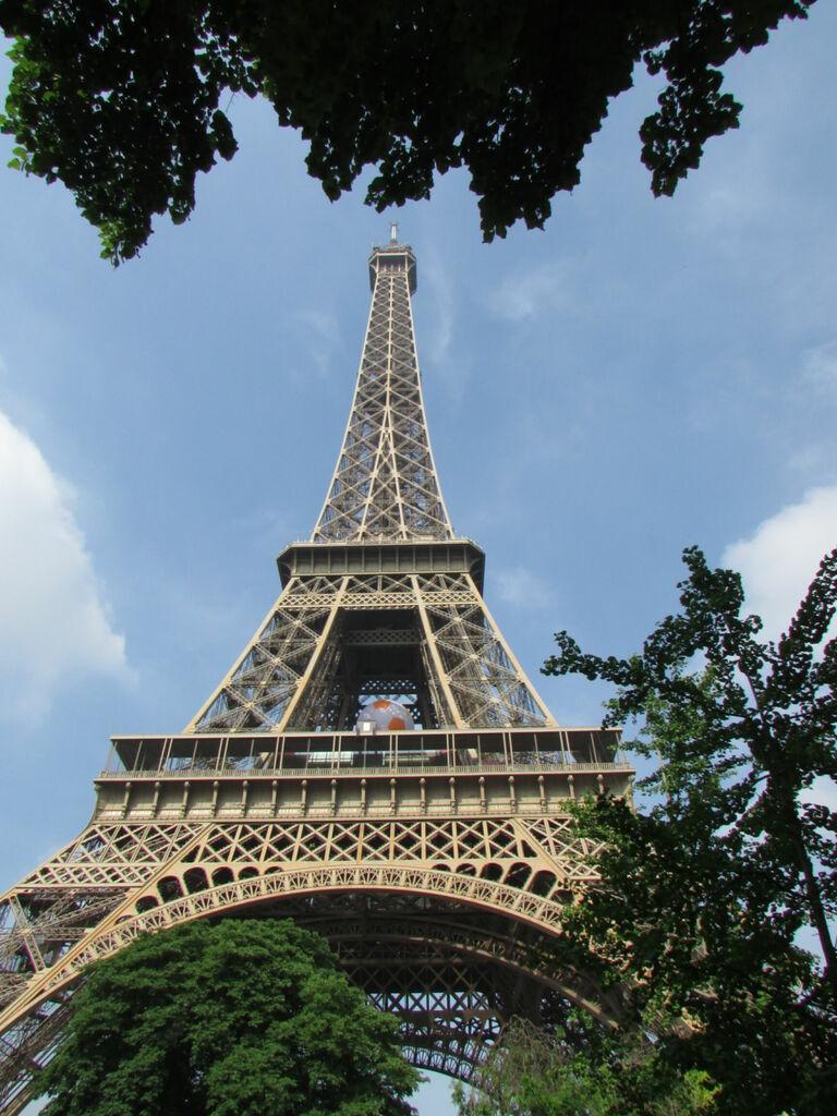 Tour Eiffel, pour avoir de temps à autre une photo bien clichée