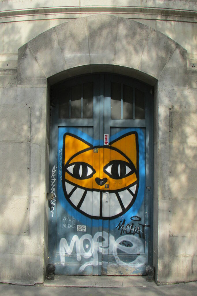 M. Chat, Mairie du XIIIe