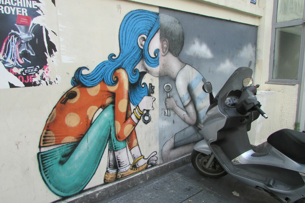 Lézarts de la Bièvre, rue de la Clef
