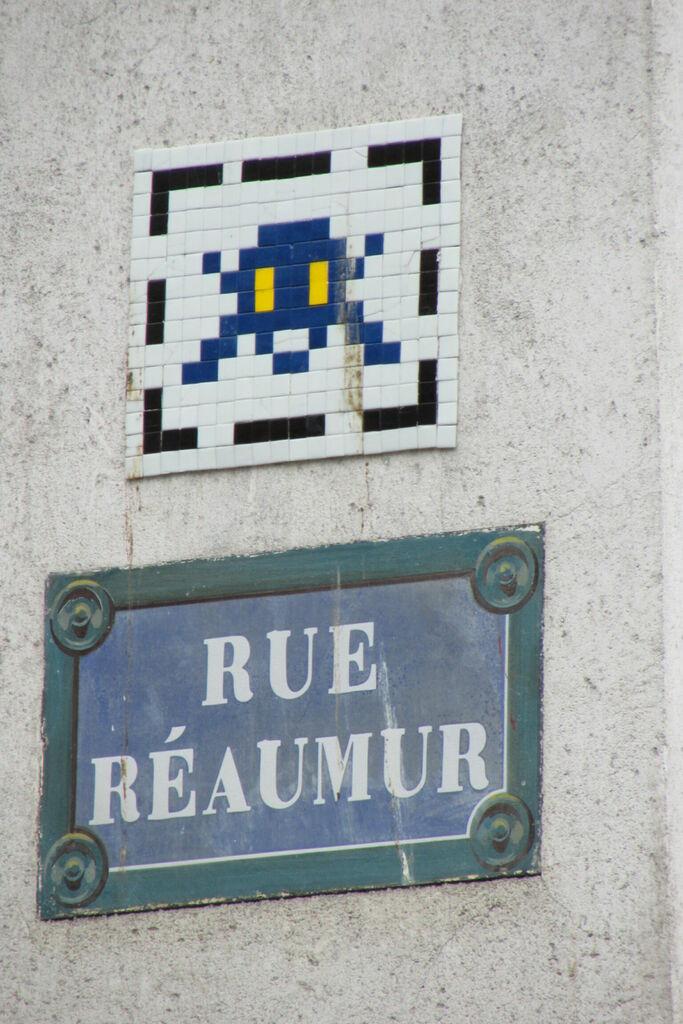 Invaders, rue Réaumur