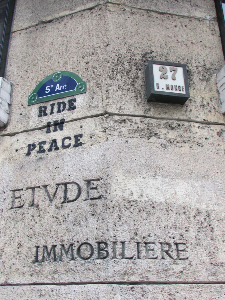 Ride In Peace 27 r. Monge ETVDE IMMOBILIERE
