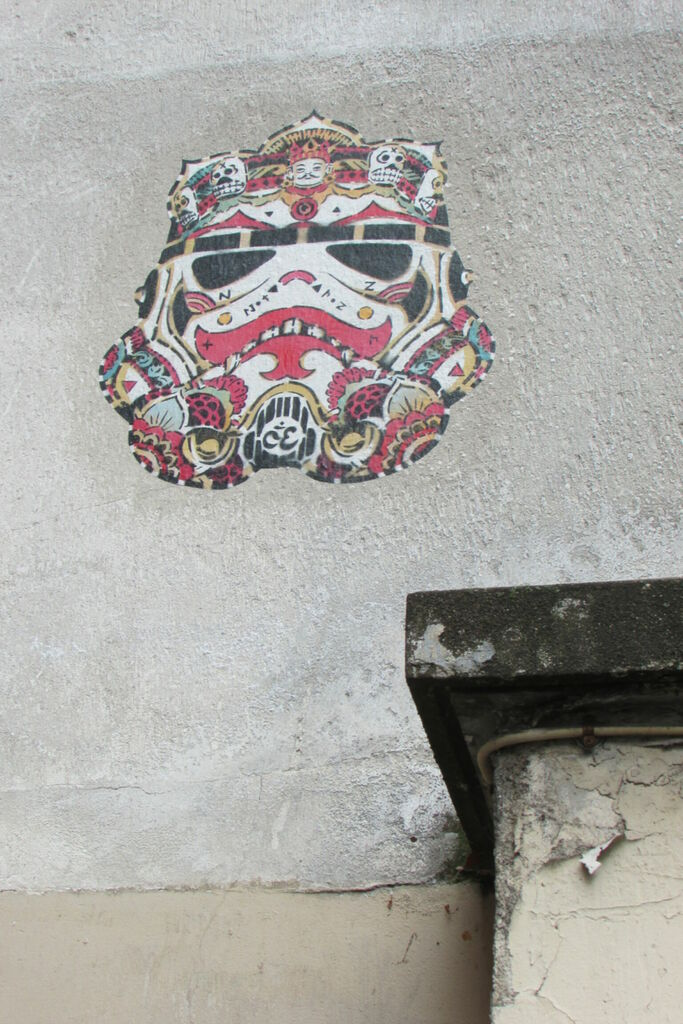 noty y aroz, stormtrooper, rue Jean Moulin