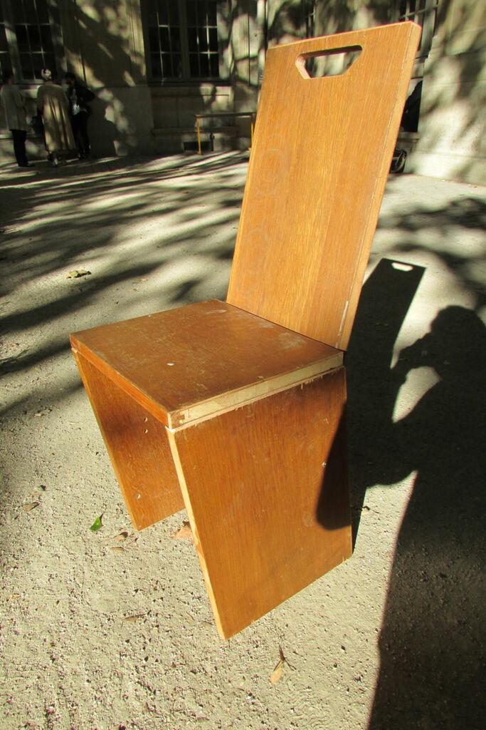 Chaise au soleil