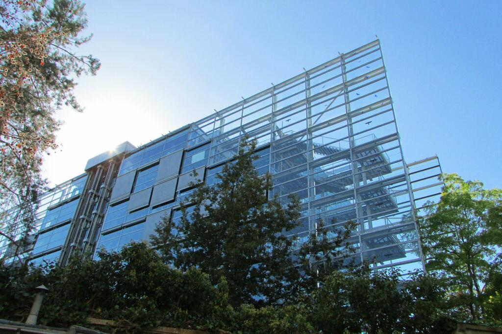 Fondation Cartier vue par l'arrière