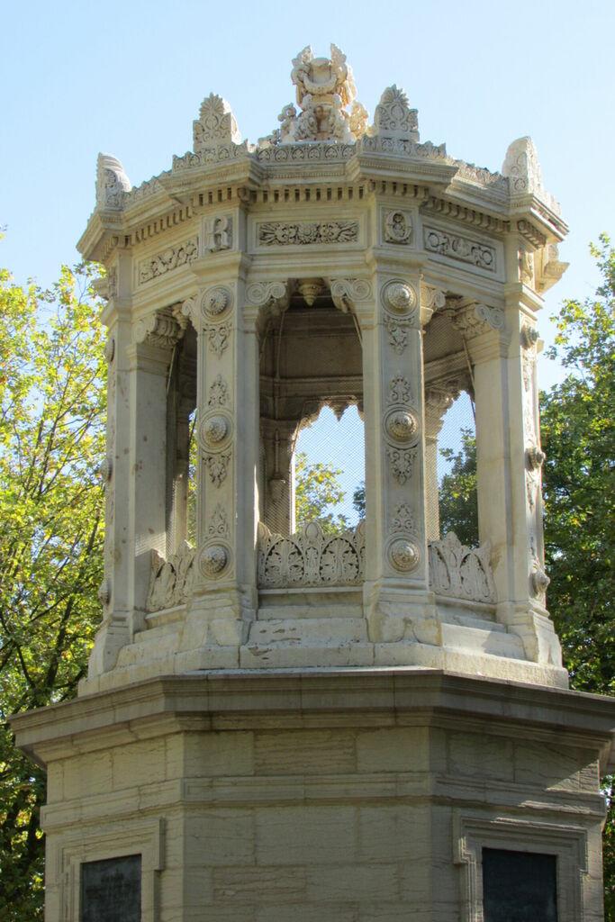 Réservoir dans le parc Darcy