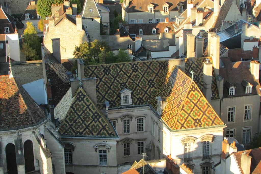 Toits depuis la tour Philippe le Bon