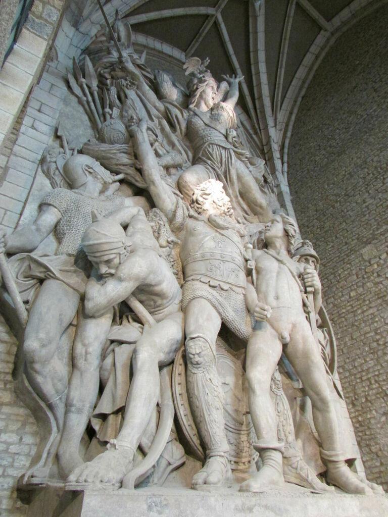 Moulage de la Marseillaise, musée Rude
