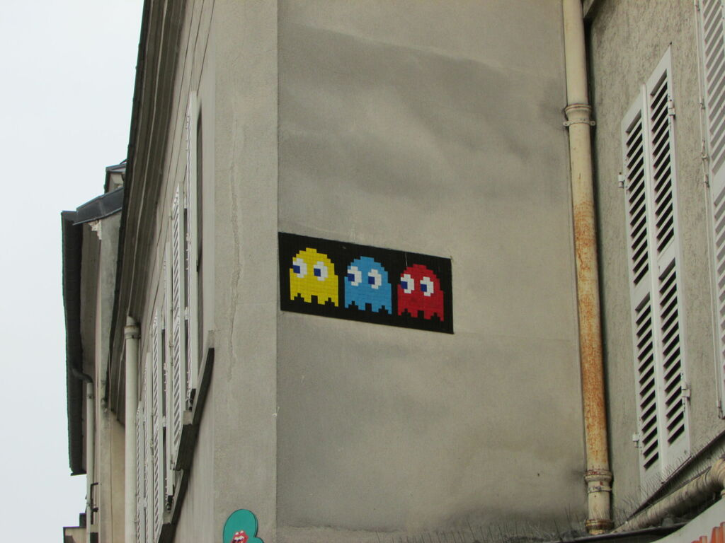 Invaders : fantômes de Pac-Man