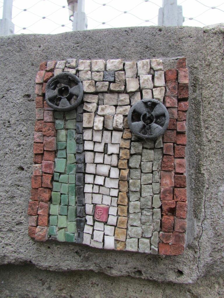 Morèje, série de mosaïque sur le canal Saint-Martin