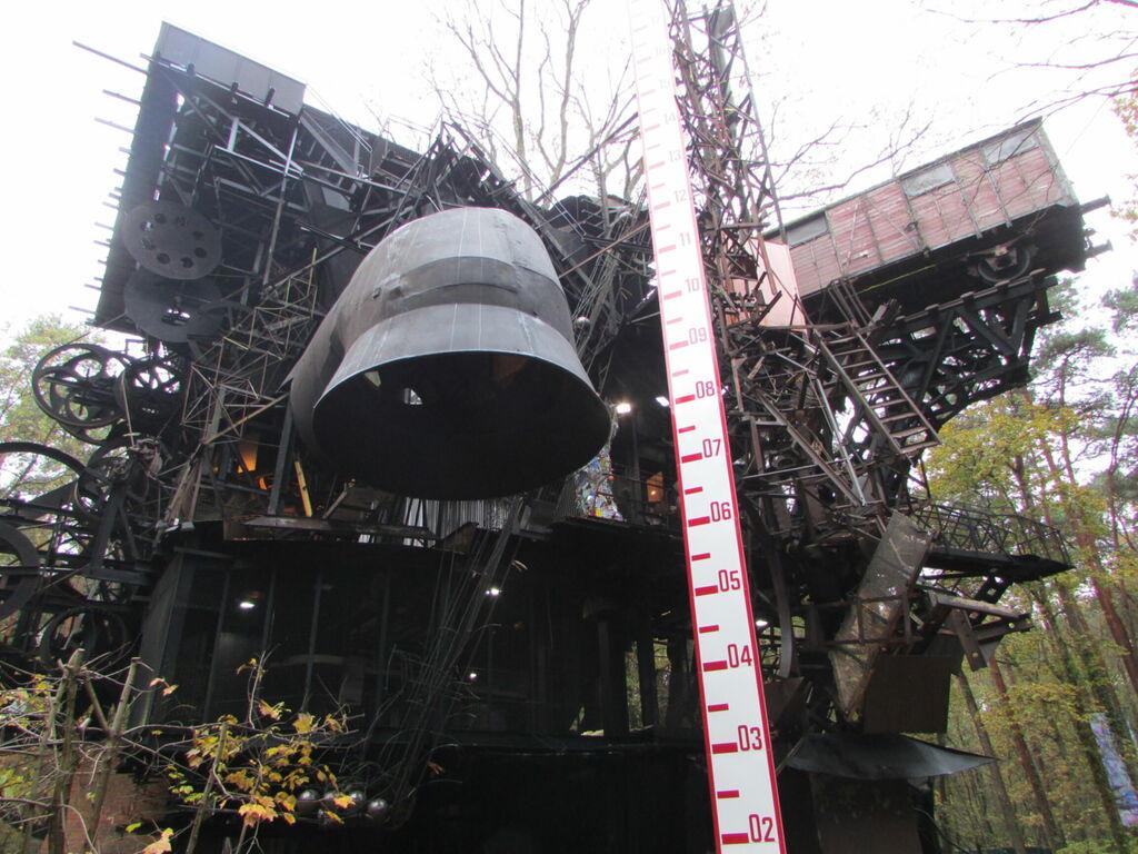 Le Cyclop' : cheminée de Beaubourg