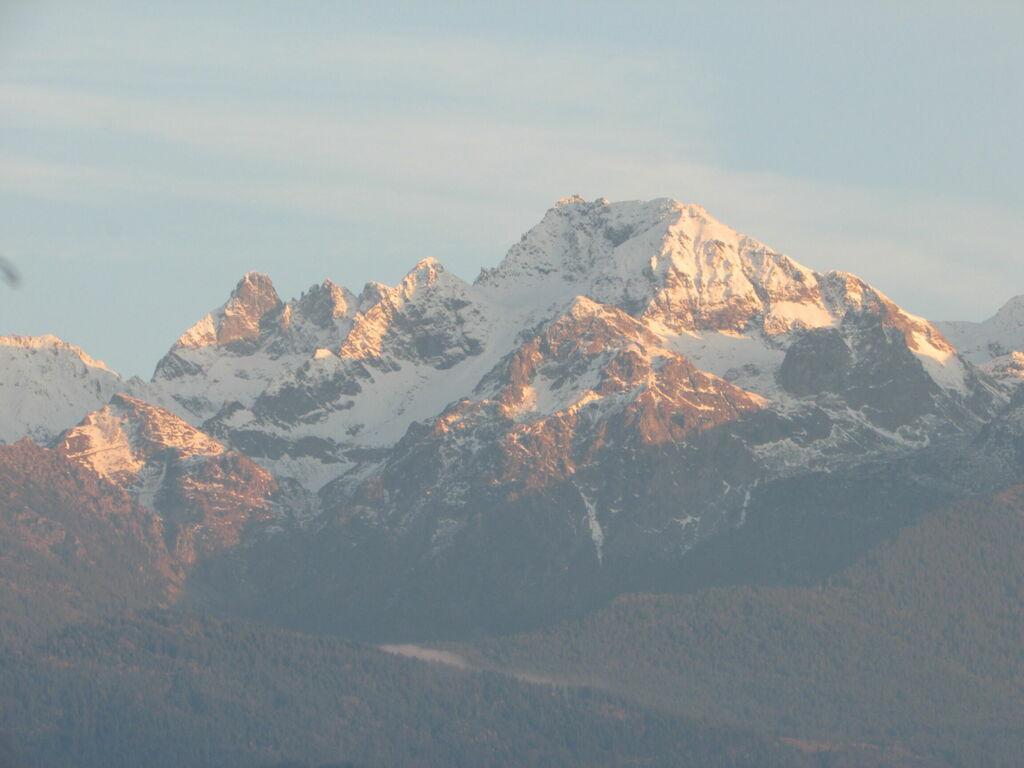 Montagnes au couchant