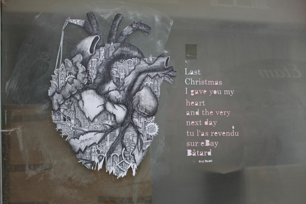 Last Christmas I gave you my heart and the very next day tu l'as revendu sur ebay Bâtard