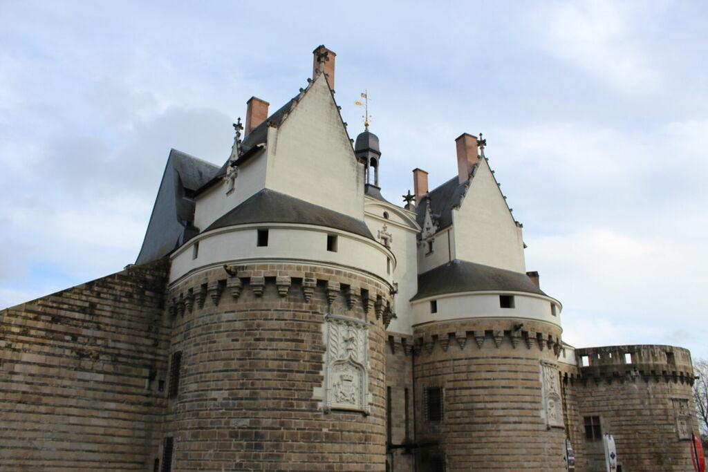 Façade du château de Nantes